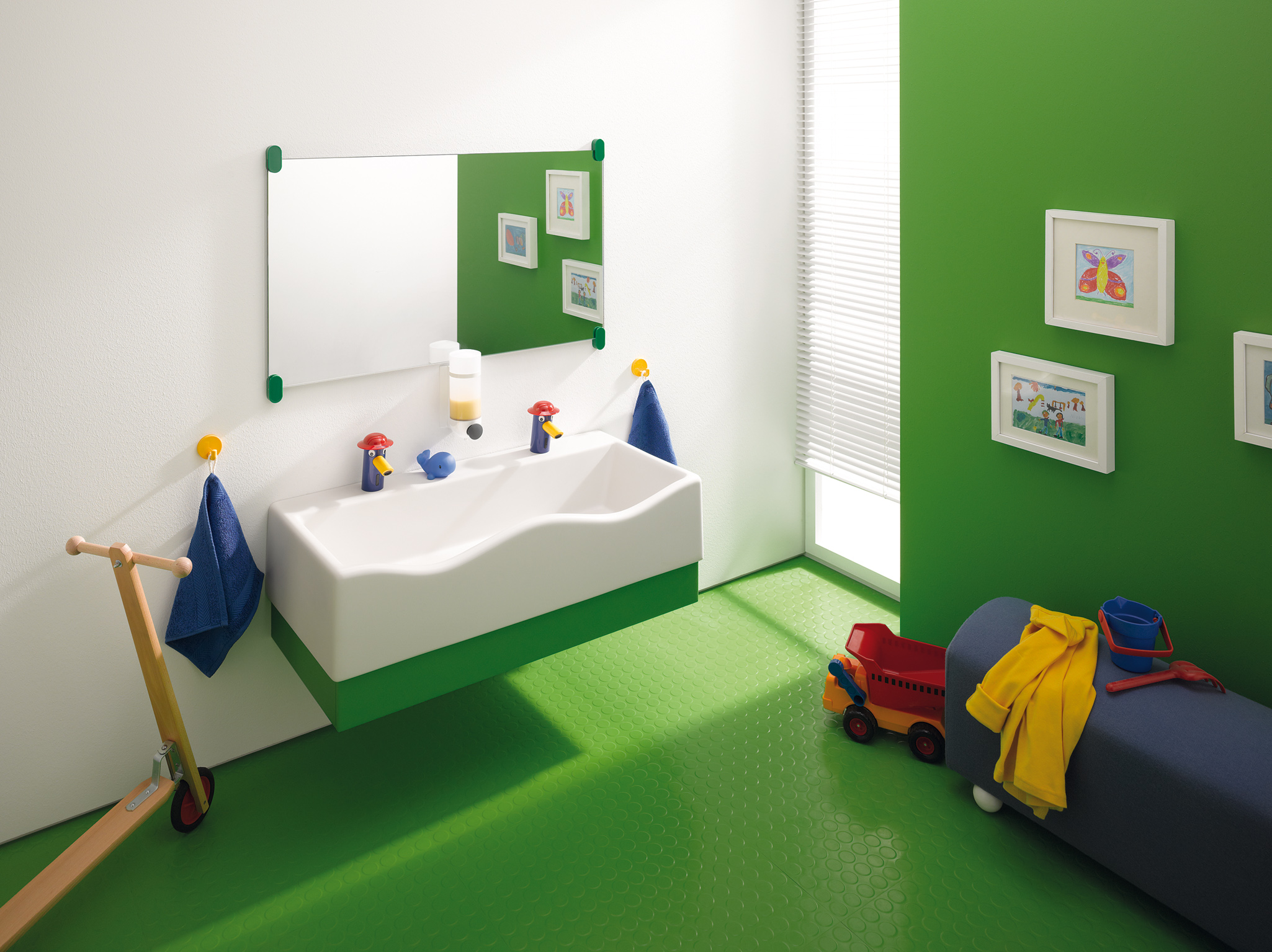 Sphinx 300 Kids - badkamer voor de kinderen