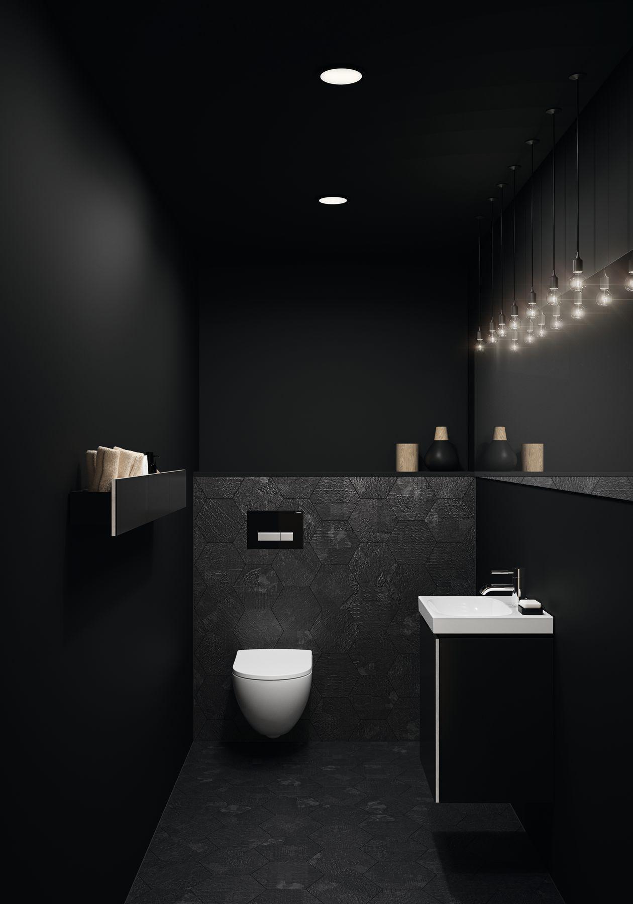 Sphinx Acanto toilet in Rimfree-uitvoering en toiletmeubel uit de nieuwe Acanto serie van Sphinx #sphinx #toilet #toiletruimte #rimfree