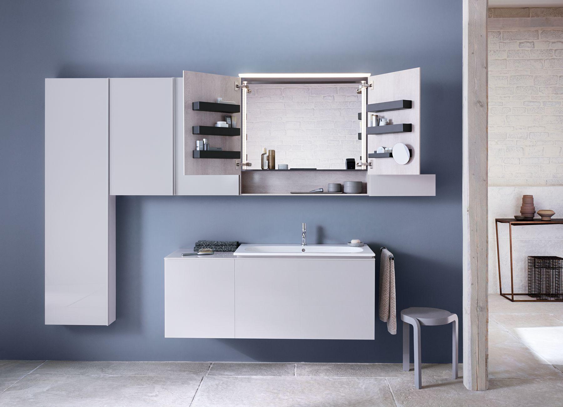 Sphinx badkamermeubel. Badkamer met luxe, comfort en voldoende opbergruimte met Acanto badkamermeubel. #sphinx #badkamer #acanto #badkamermeubel