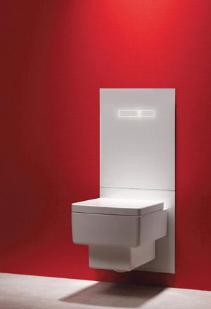 TECElux spoelreservoir toilet touch TECE