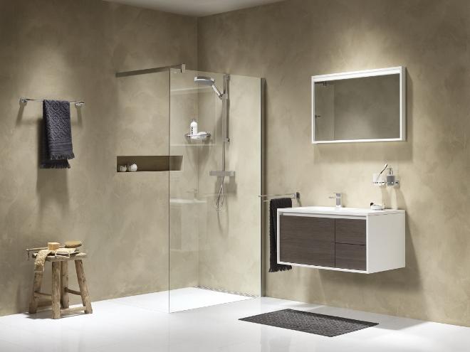 Moderne Badkamer Zonder Tegels : De badkamer met lucca accessoires ...