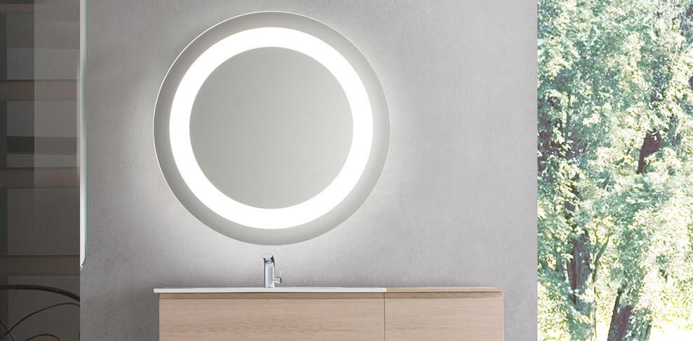 Intelligente badkamerspiegels vanita casa nieuws Badkamerspiegel met led verlichting en verwarming