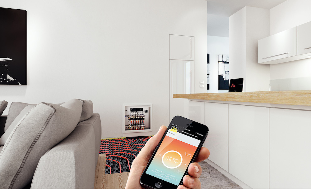 Vloerverwarming Viega Fonterra Smart control #viega #vloerverwarming