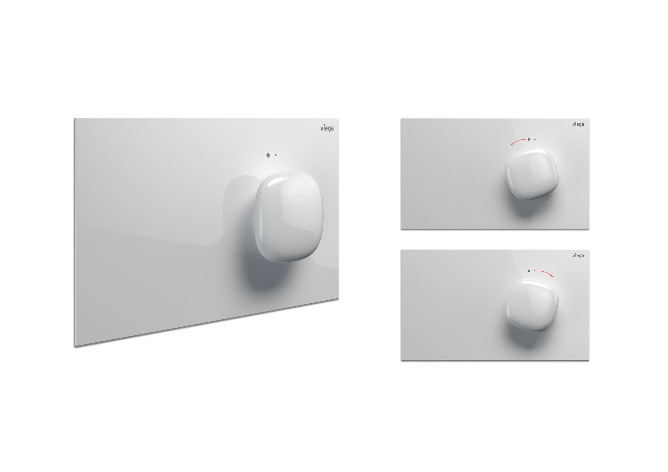Viega WC bedieningsplaat Visign for More 202 #design #ifaward