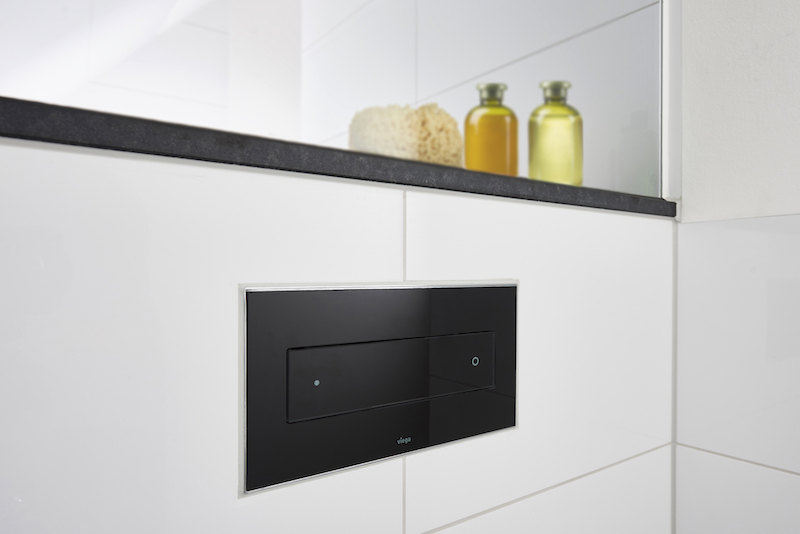Toilet met bedieningsplaat Visign for Style van Viega
