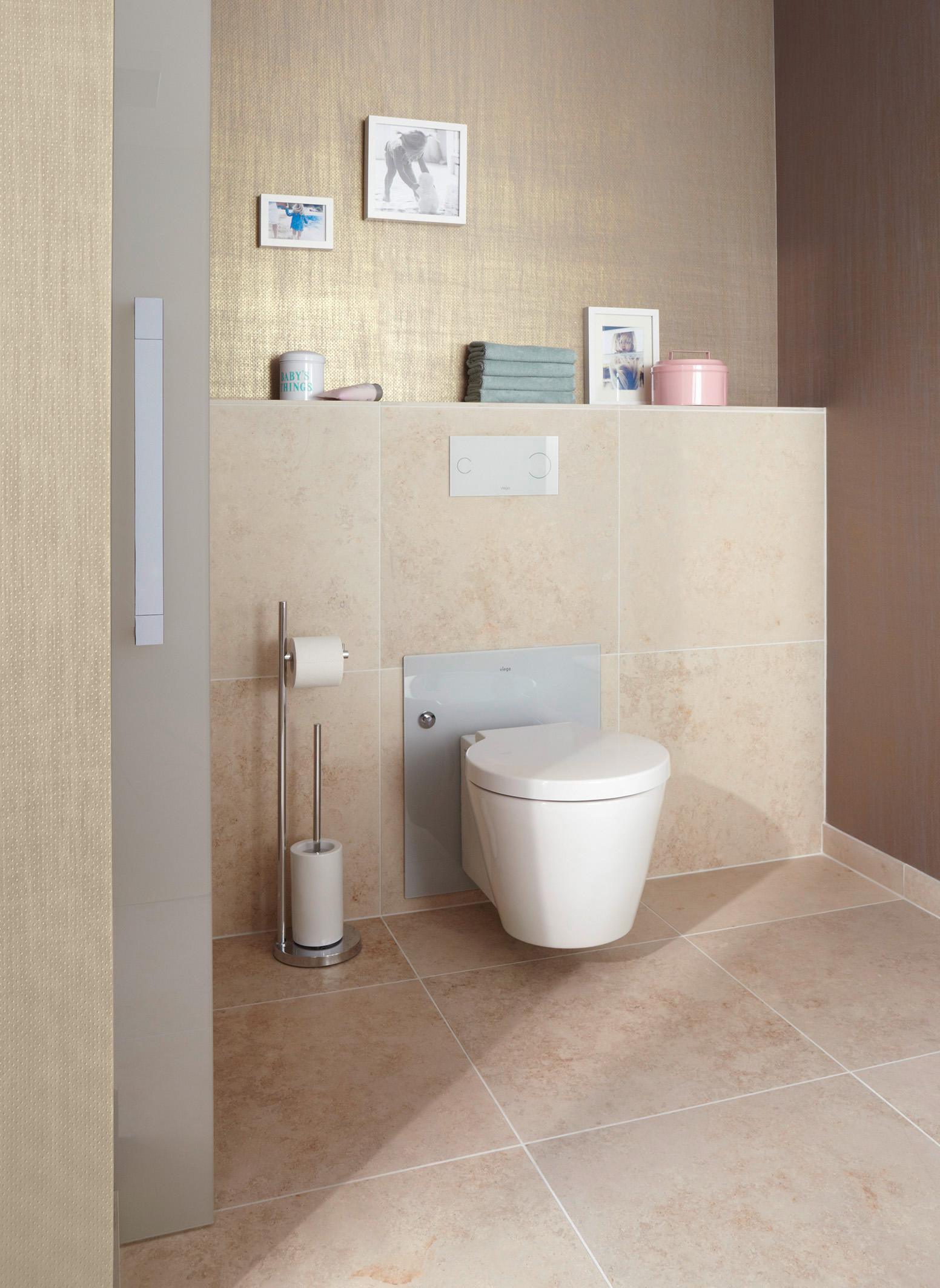 Viega in hoogte verstelbare toilet