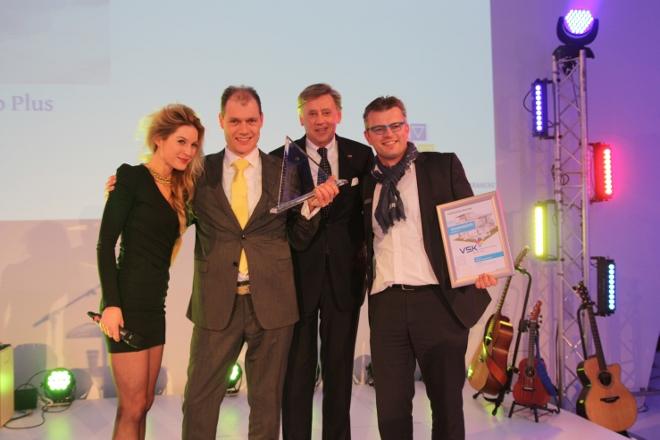 Lauren Verster uitreiking VSK Award Viega - Gerben Verweij