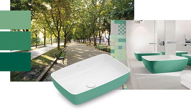 Badkamer Leeuwarden Kleuren : Kleur in de badkamer met villeroy boch nieuws badkamer