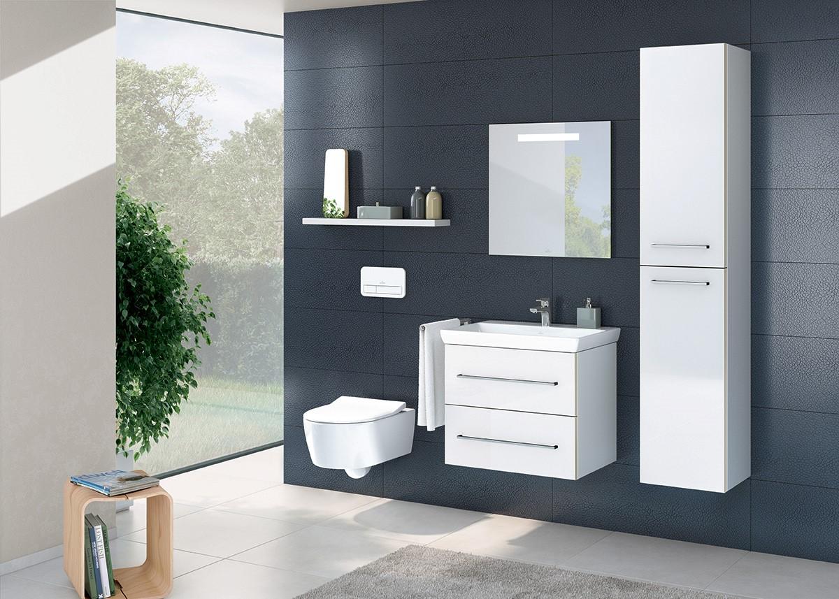 Villeroy & Boch badkamermeubels uit de Avento collectie #badkamer
