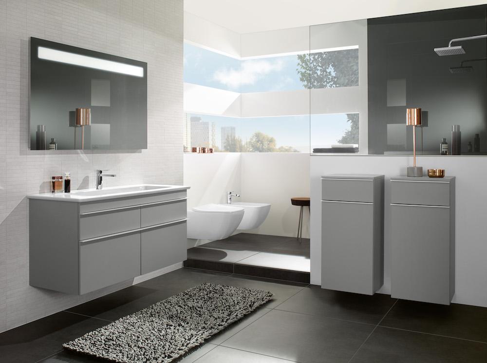 Villeroy & Boch badkamermeubels en wastafels Venticello #badkamer
