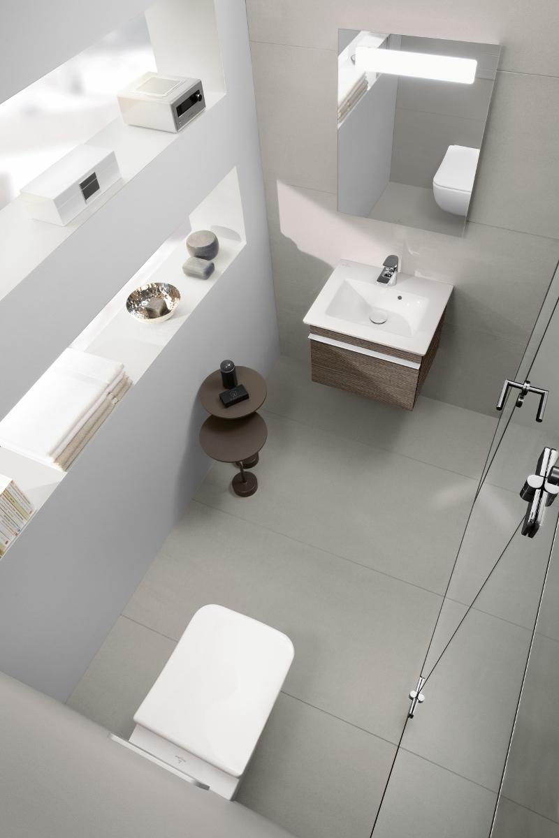 Toilet met wastafel Venticello van Villeroy & Boch