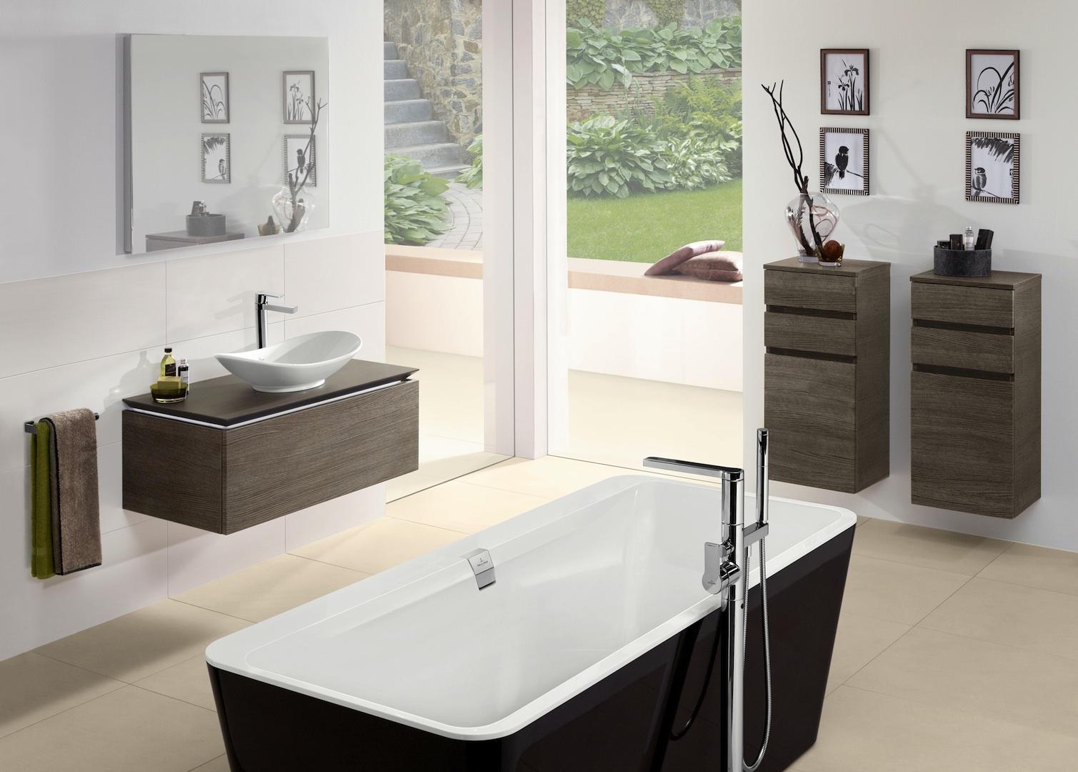 Badkamermeubels en bad Legato van Villeroy & Boch