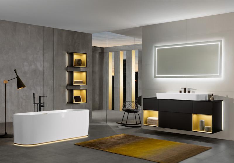 e nieuwe badkamercollectie Finion van Villeroy & Boch #bad #wastafel