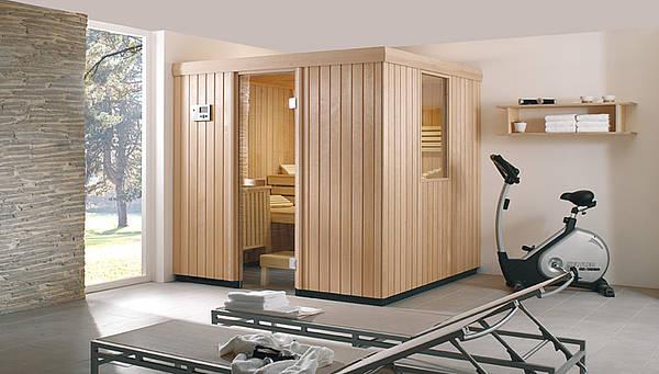 Sauna in huis: Villeroy & Boch sauna uit de SX-line