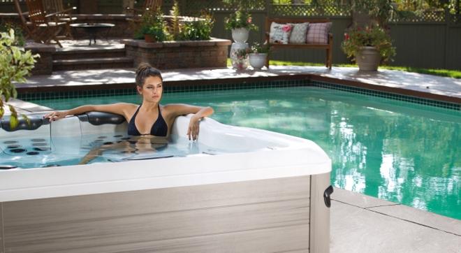 Outdoor spa van Villeroy & Boch