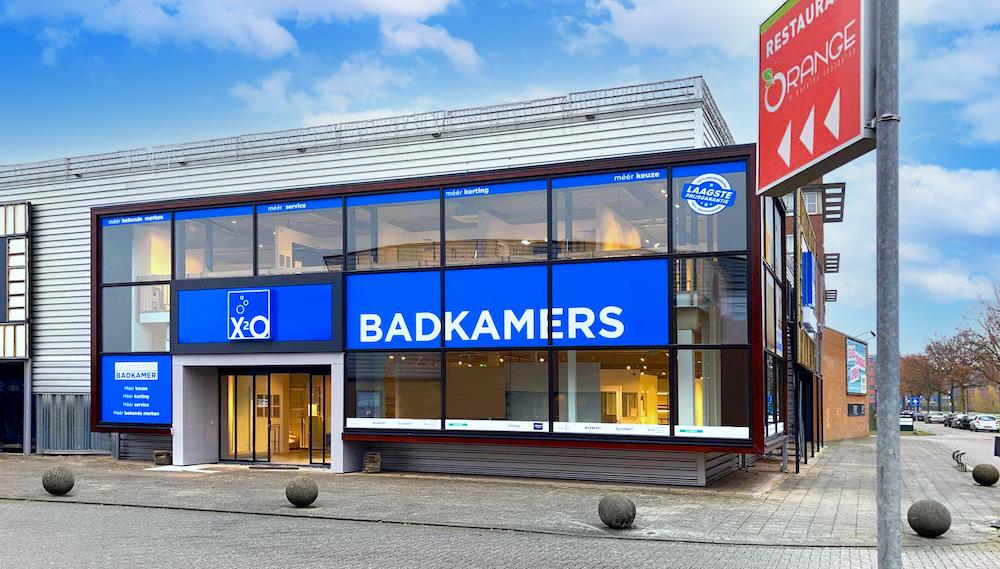 Badkamers winkel-showroom X2O Apeldoorn #apeldoorn #badkamers #showroom