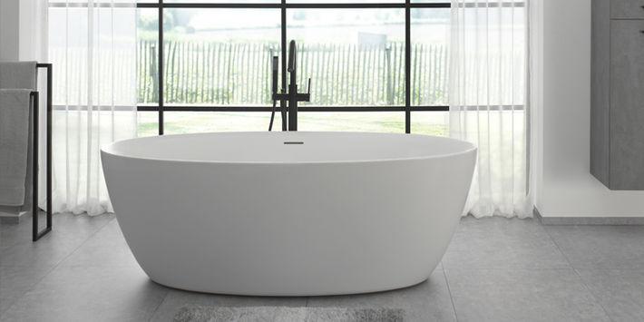 Moderne baden in alle vormen en maten #bad #badkamer