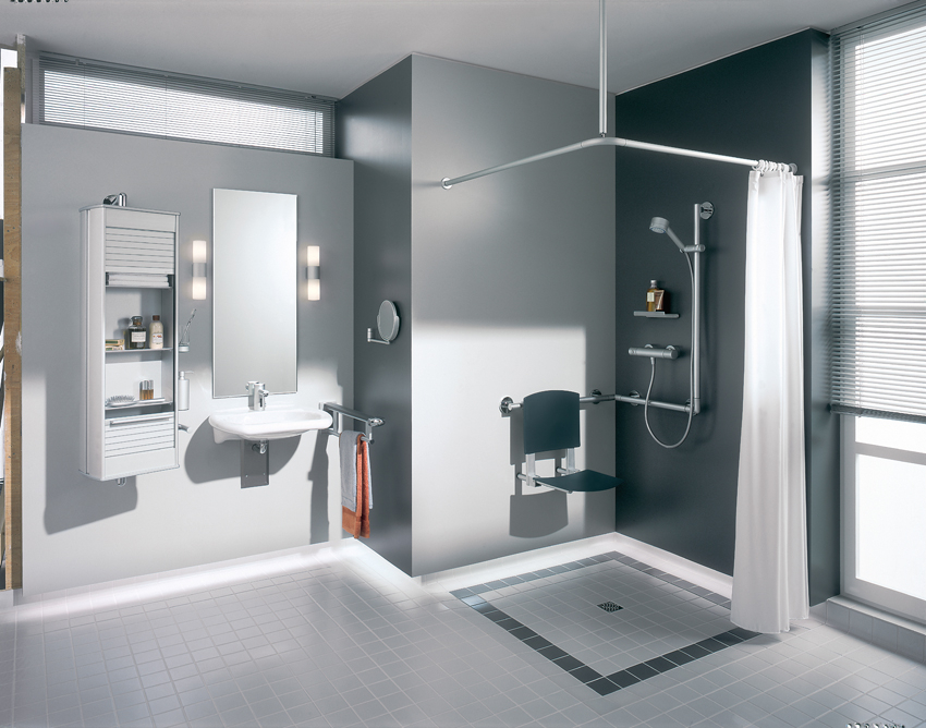 Baden+ aangepaste badkamer voor senioren
