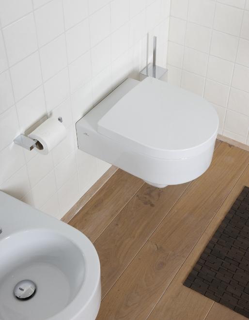Baden+ badkamer Noken met bidet