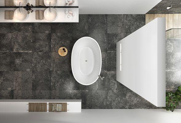 Tegeltrends voor de badkamer #tegels #badkamertrends #badkamer #inspiratie #baden+ #badenplus