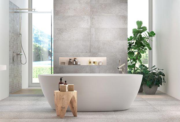 Tegeltrends voor de badkamer in 2019  #tegels #badkamertrends #badkamer #inspiratie #baden+ #badenplus
