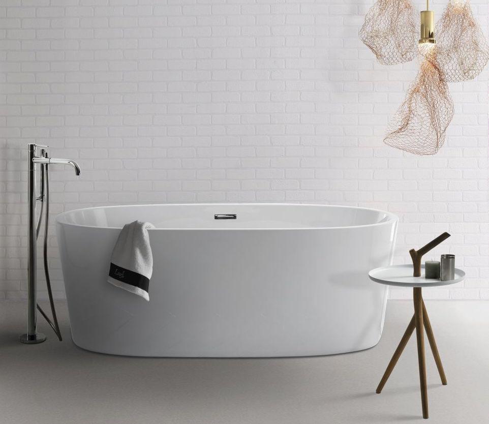 Vrijstaand bad van Djati #bad #badkamer #djati