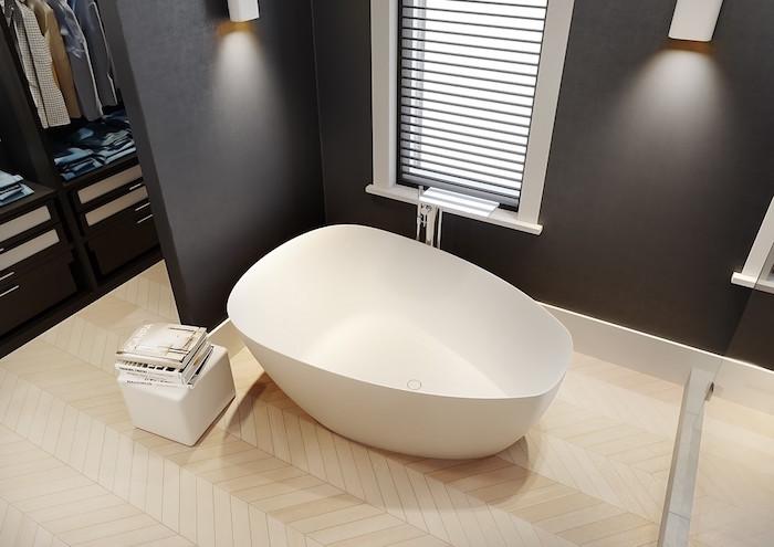 Vrijstaand bad Toledo van Solid Surface. FromScratch #badkamer #badkamerinspiratie #bad