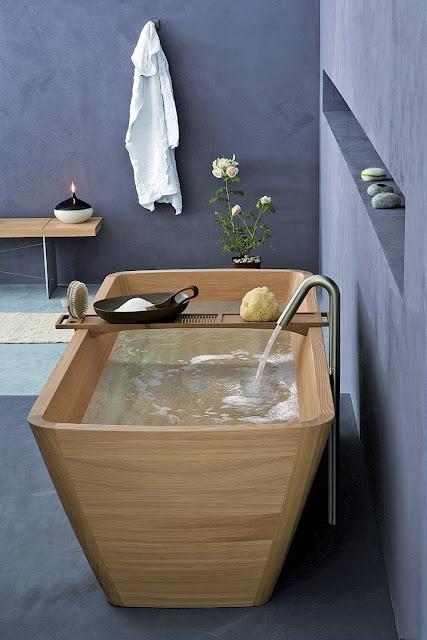 Trend: houten baden