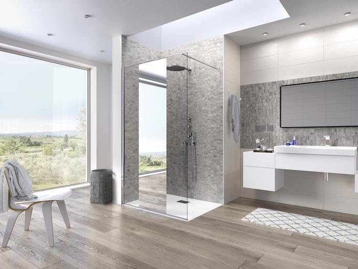 De Kinequartz solo douchewanden van douchefabrikant Kinedo®  zijn verkrijgbaar in 3 glasvarianten met of zonder profiel. De douchewanden zijn gemaakt van uitzonderlijk helder glas: Crystal Clean glas. Crystal Clean glas zorgt voor een hoge transparantie en een ongeëvenaarde glans #kinequartz #inloopdouche #douchewand #badkamer #badkamerinspiratie