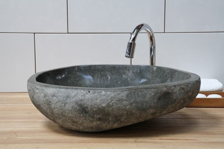 Badkamer Hout Natuursteen : Mooi voor de badkamer waskommen van natuursteen nieuws