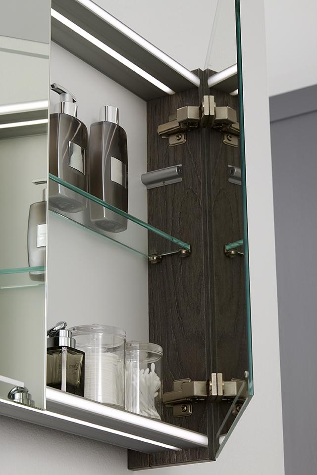Thebalux spiegelkast voor de badkamer met led-verlichting