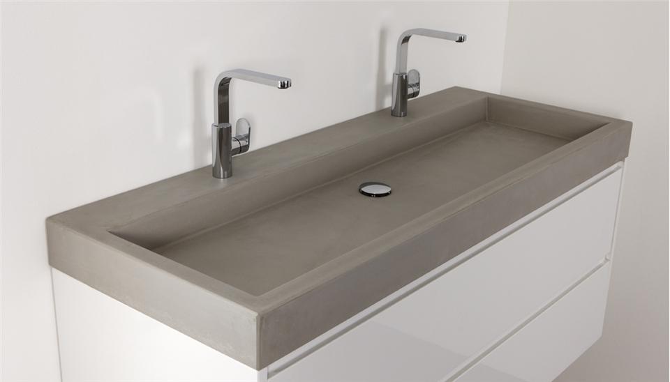 Betonnen wastafels van Thebalux - Nieuws Startpagina voor badkamer ...