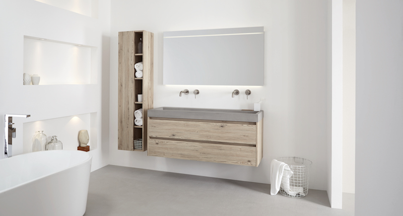 Badkamertrend stoer beton in de badkamer nieuws startpagina