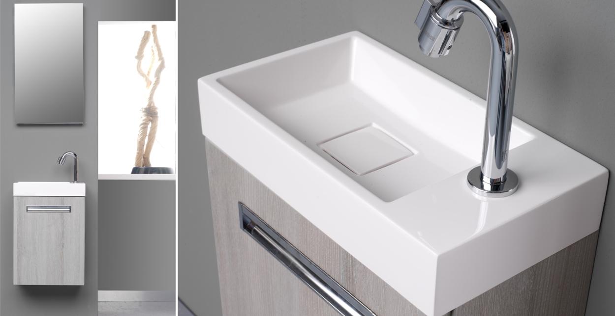 Toiletmeubels: stijlvolle opbergruimte met wastafel - Nieuws ...