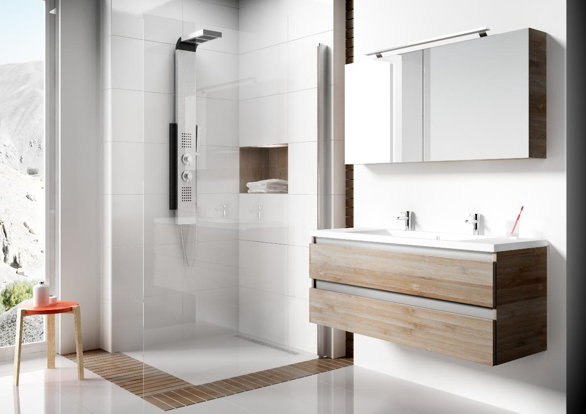 Zo deel je handig de nieuwe badkamer in nieuws startpagina voor badkamer idee n uw - Moderne badkamer meubels ...
