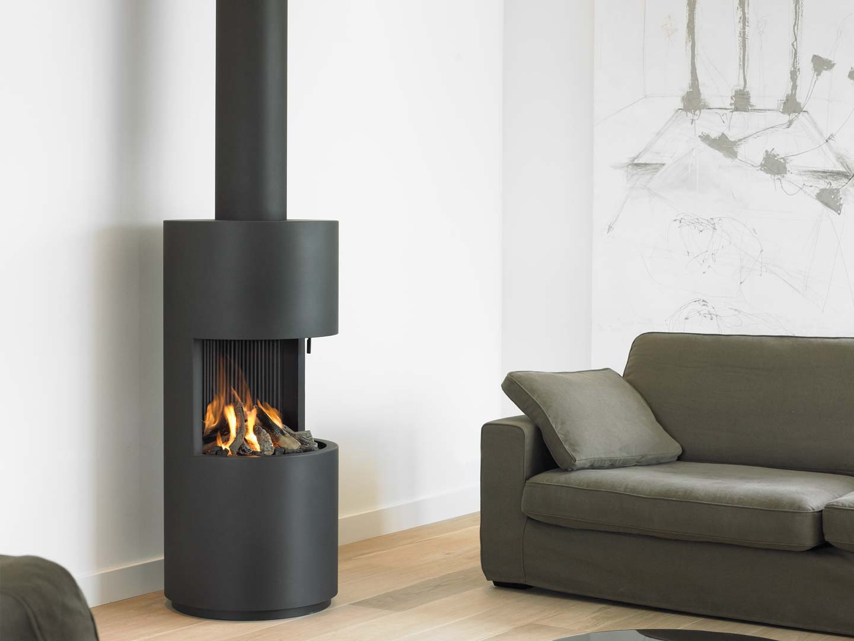 Design gaskachel van Boley