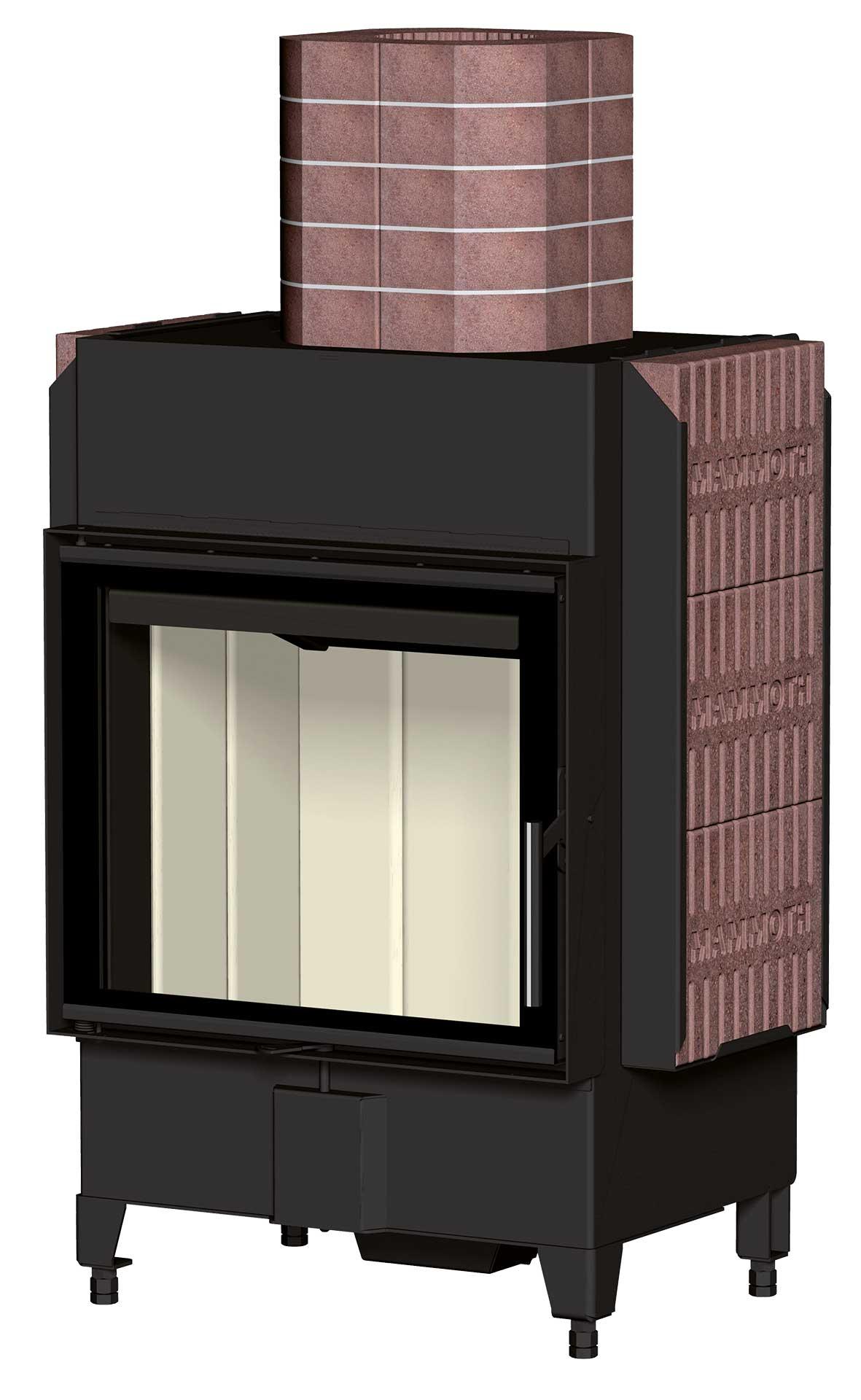 Heat houthaard met accumulatiestenen om het huis efficient te verwarmen #haard #houthaard #energiebesparen