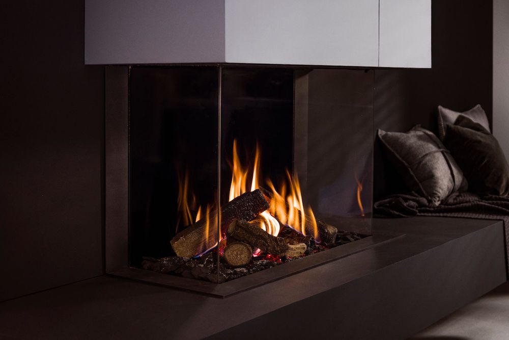Trimline Fires gashaarden #gashaard #haard #haardininterieur #interieur #trimlinefires
