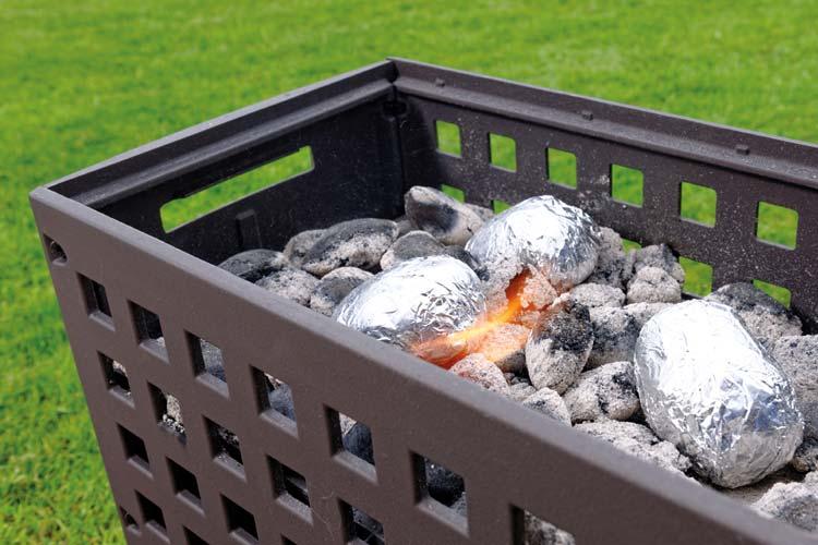Tuinhaard en barbecue Outfire vuurbox Helex