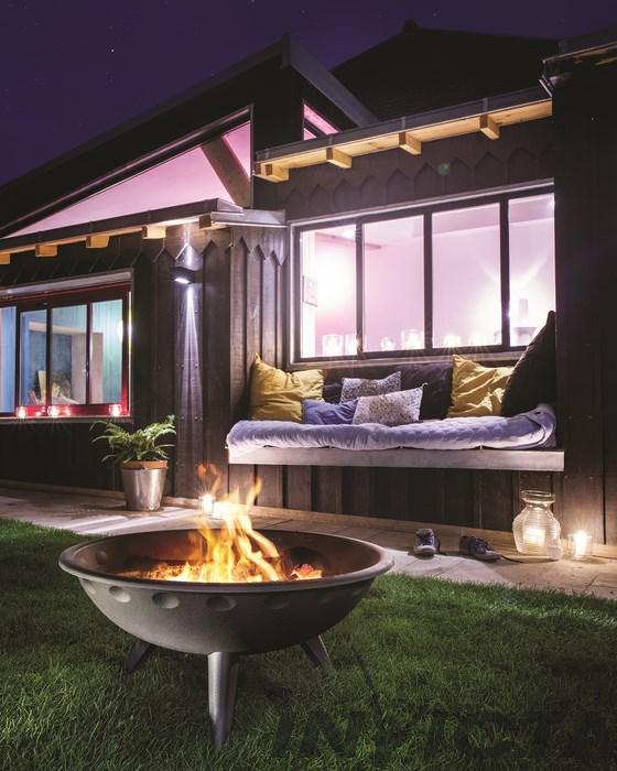 Gietijzeren vuurschaal Iowa Garden Fire van Invicta