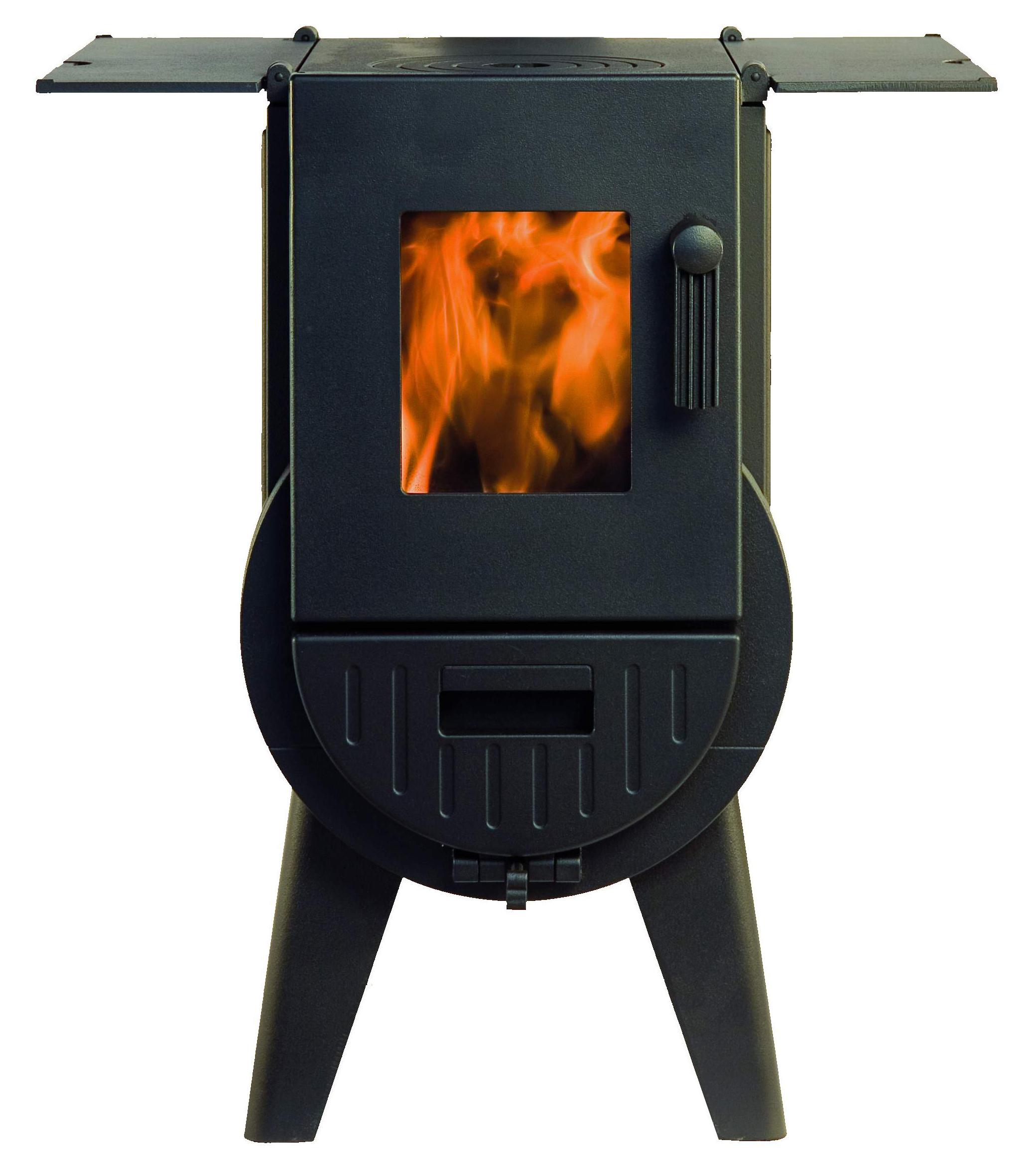Exclusieve gietijzeren houtkachel Iron Dog No3