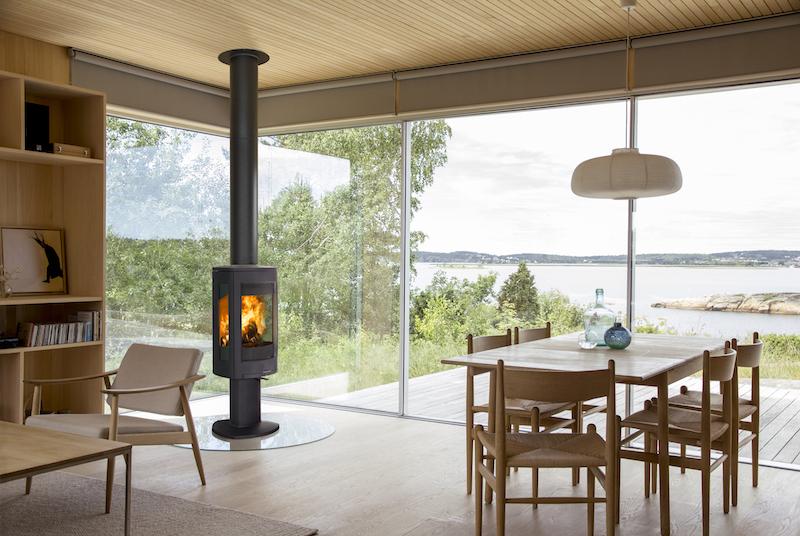 Noorse houtkachel van gietijzer - Jotul F 373 Advance