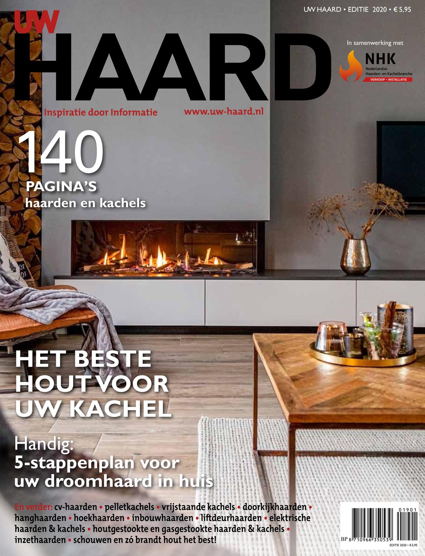 Alle informatie over haarden en kachels vind je in het UW Haard magazine. Bestel het hier #magazine #haarden