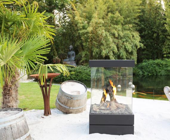 M-Design Cube True Vision outdoor gashaard #tuinhaard #buitenhaard #outdoor #tuin #terras #mdesign