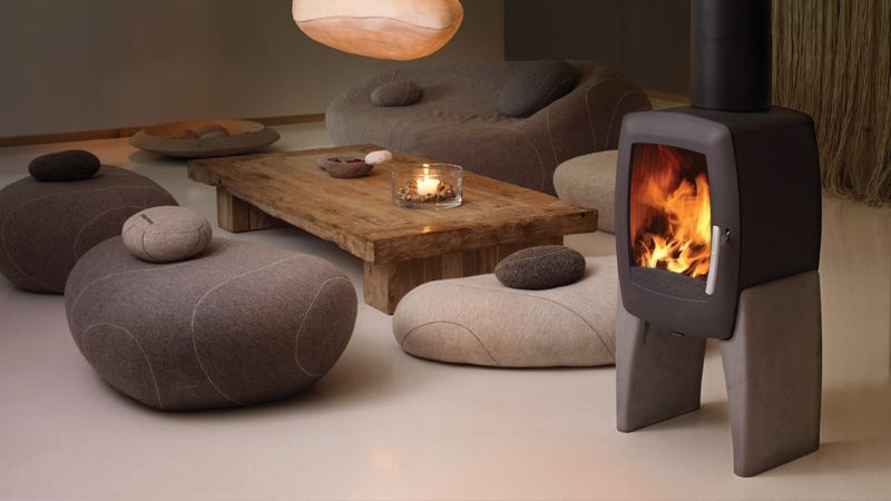 Houtkachel Nordpeis Smarty Stone #Scandinavie