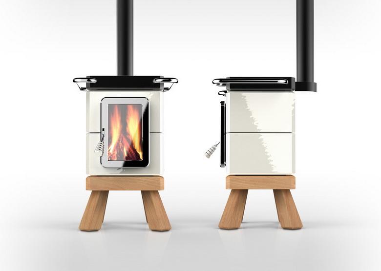 stoer  koken op houtkachel cookinstack