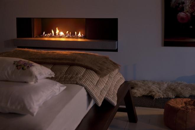 Tulp gashaard B-fire 100 in slaapkamer