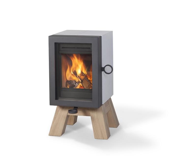 OAK houtkachel van Wanders Fires & Stoves