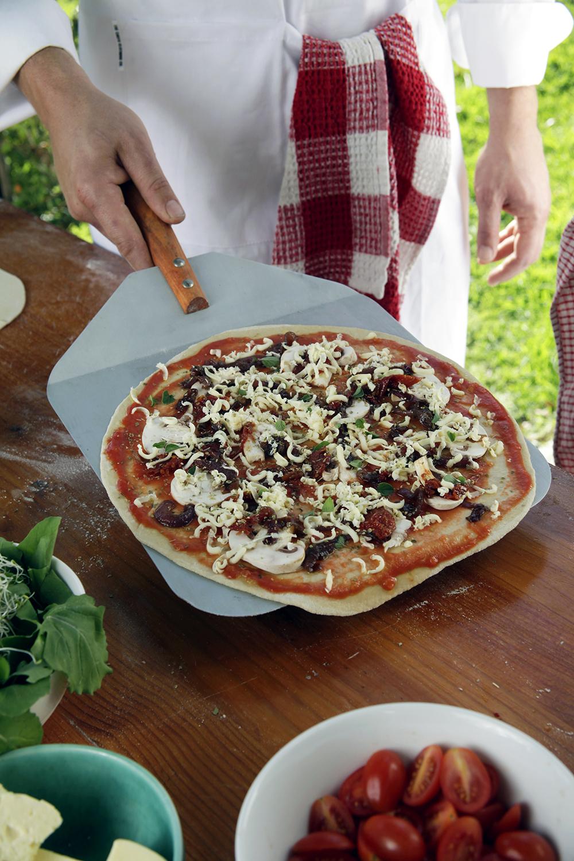 Pizza voor keramische pizza-oven African Flame