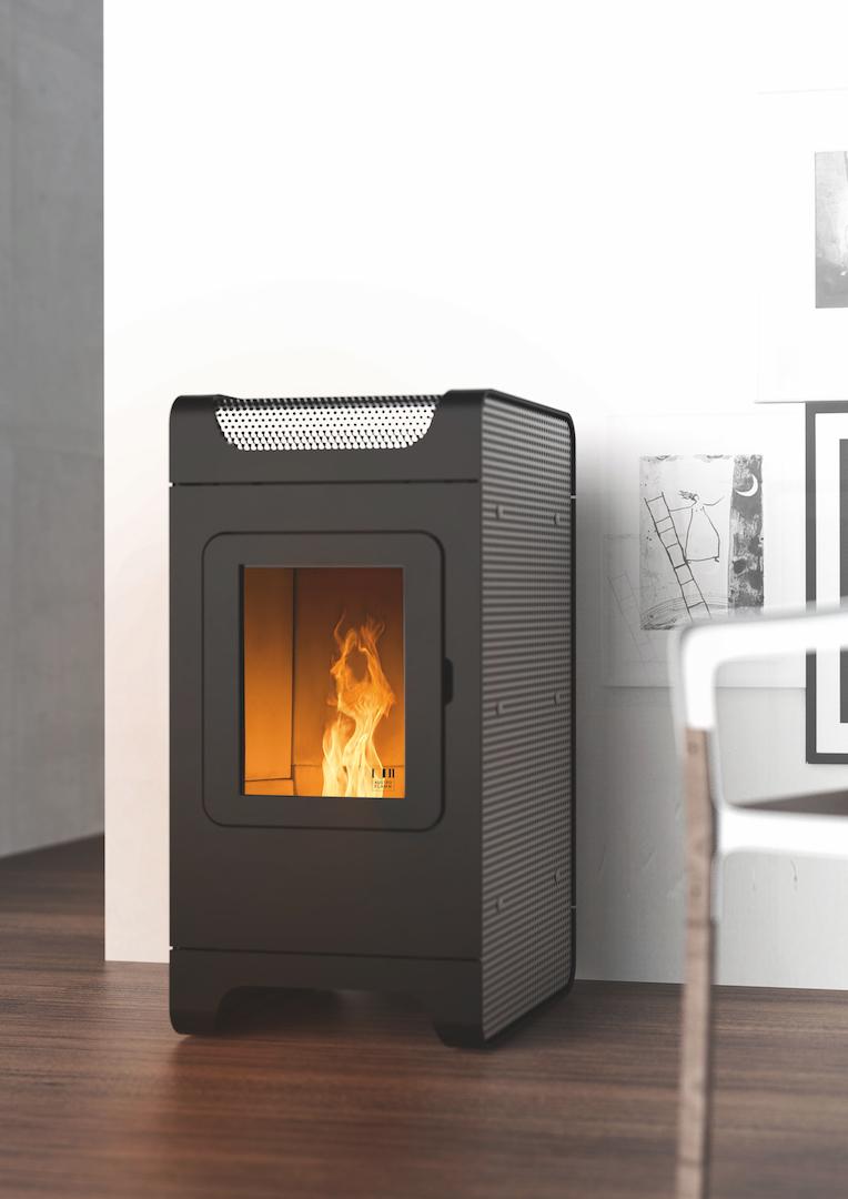 Energiezuinig verwarmen met een pelletkachel - Austroflamm Ben via Fero